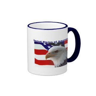 United States of America Eagle Coffee Mug