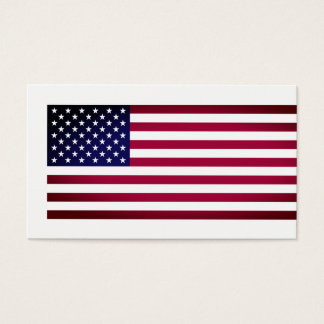 United States of America Flag, American Business Card