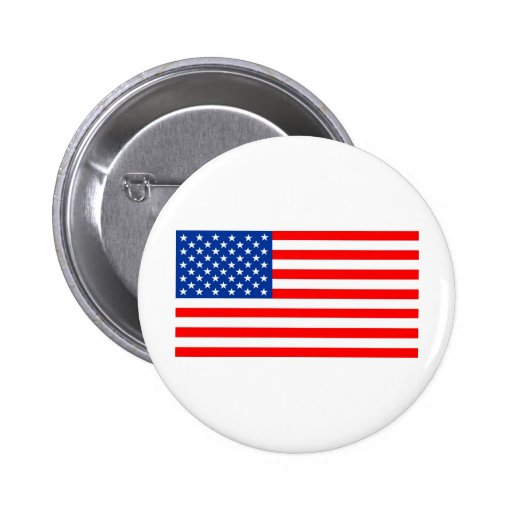 United States of America flag Buttons