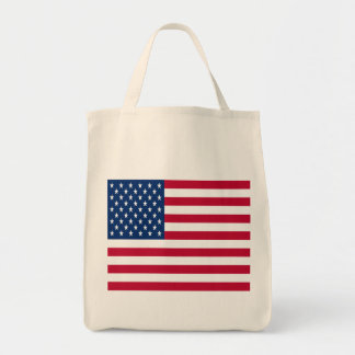 United States of America Flag Canvas Bags