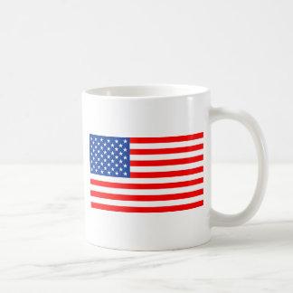 United States of America flag Basic White Mug