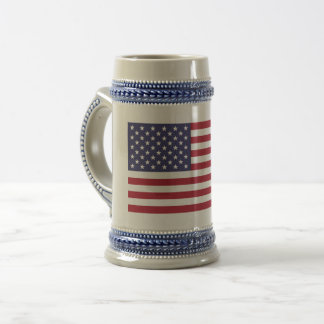 United States of America flag Beer Stein