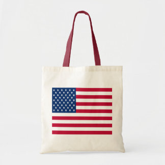 United States of America Flag Budget Tote Bag