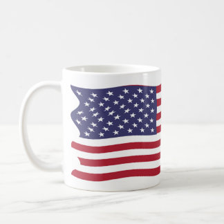 United States Of America Flag Coffee Mug