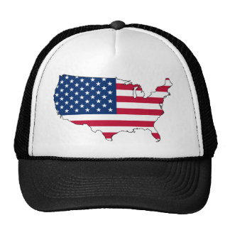 United States of America Flag Hats