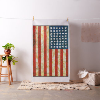 United States of America Flag - Jasper Johns Fabric