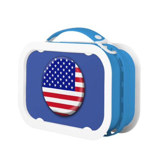 United States Of America Flag Lunch Box