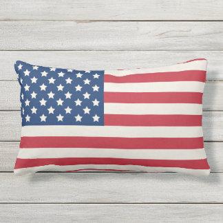 United States of America Flag | Patriotic Lumbar Cushion