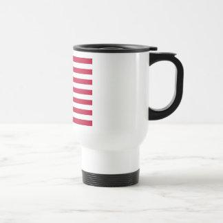United States of America Flag Stainless Steel Travel Mug