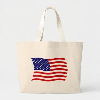 United States of America Flag Tote Bag