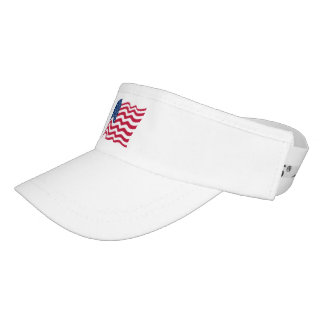 United States of America flag Visor