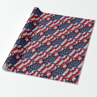 United States of America Flag Wrapping Paper
