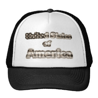 United States of America Trucker Hats