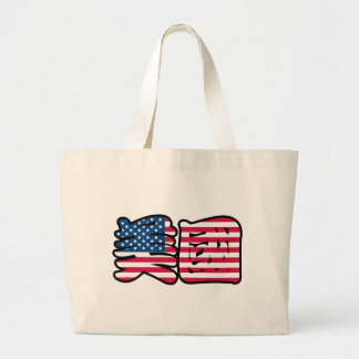 United States of America in Chinese Bag