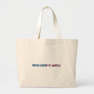 United States of America Jumbo Tote Bag