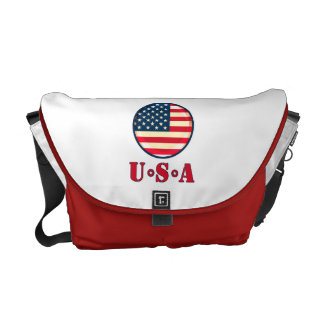 United States of America Messenger Bag