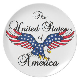 United States of America Party Plates