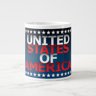 United States of America Jumbo Mugs