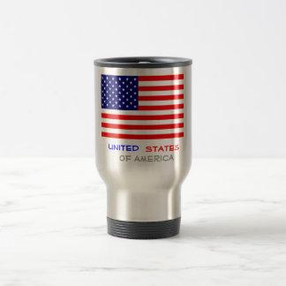 United States of America, Stainless Steel Travel Mug
