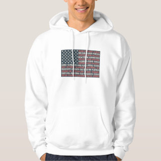 United States Of America | States & Capitals Hoodie