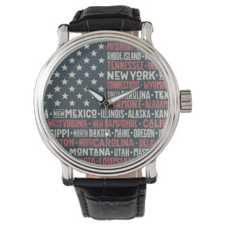 United States Of America |States & Capitals Watch