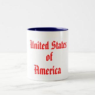 United States, of, America Two-Tone Mug