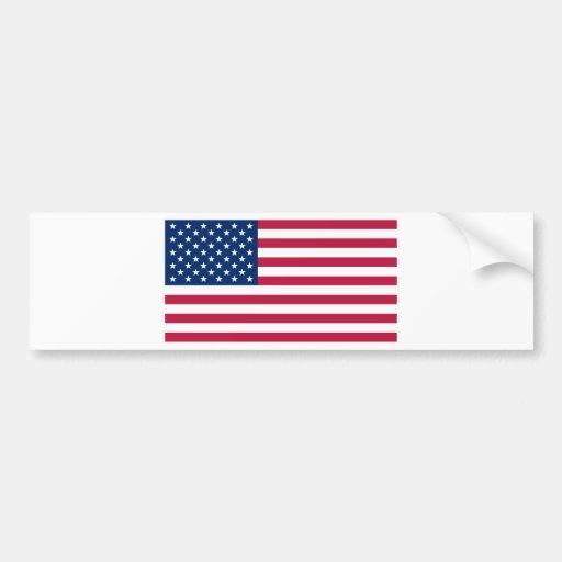 United States of America USA Bumper Sticker