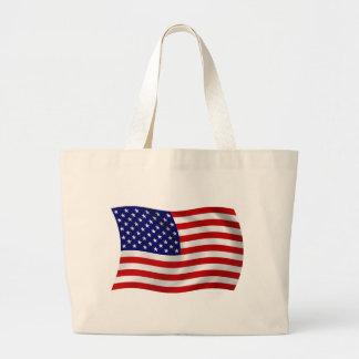 United States of America (USA) Flag Tote Bag