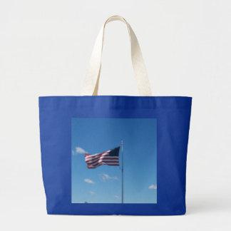 United states Of America's Flag. Jumbo Tote Bag