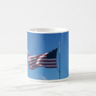 United States Of America's Flag. Classic White Coffee Mug