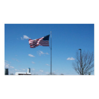 United States Of America's Flag. Pack Of Standard Business Cards