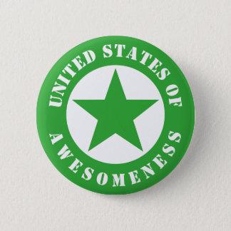 United States of Awesomeness 6 Cm Round Badge