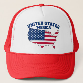 United States of 'Merica Trucker Hat