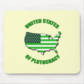 United States of Plutocracy Mouse Pad