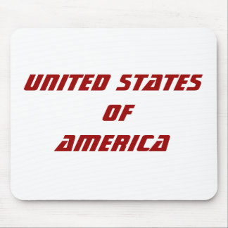 United States ofAmerica Mouse Pad