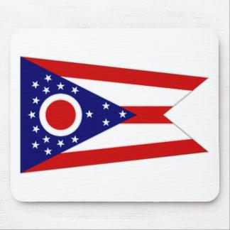 United States Ohio Flag Mouse Pads