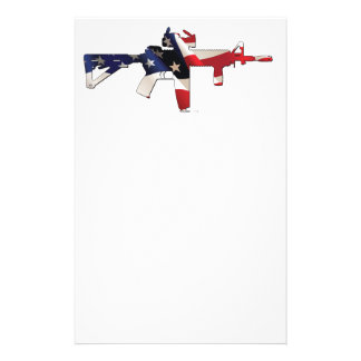 United States, Patriot, Flag and Military Stationery Design