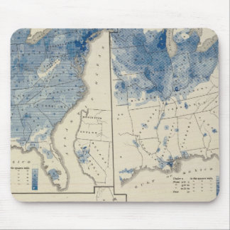 United States population census Mousepad