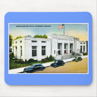 United States Post Office, Hattiesburg, Miss. Mouse Pad