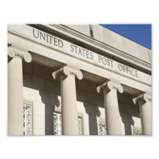United States Post Office Photo Art