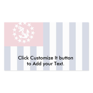 United States Power Squadrons, United States flag Business Card Templates