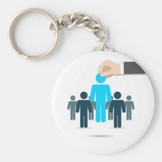 United States presidential election 2016 Basic Round Button Key Ring
