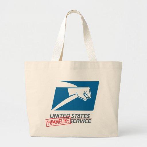 United States Pummeling Service Canvas Bag