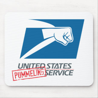 United States Pummeling Service Mousepads