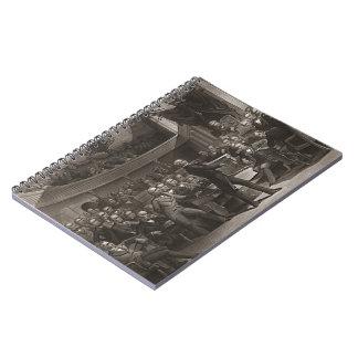 United States Senate 1850 Spiral Note Book