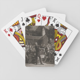 United States Senate 1850 Poker Cards