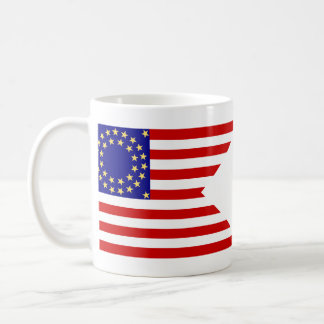 United States Seventh Cavalry Battle Guidon Flag Coffee Mug