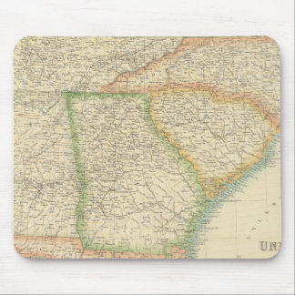 United States South Eastern States Mouse Pad
