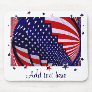 United States Stars and Stripe_ Mouse Pad