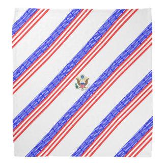United States stripes flag Bandana